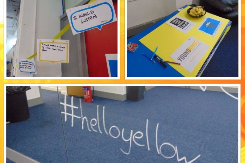 Say #HelloYellow for World Mental Health Day